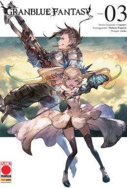 Copertina di Granblue Fantasy n.3