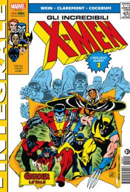 Copertina di X-Men integrale n.1