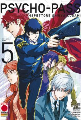 Copertina di Psycho-Pass – Ispettore Shinya Kogami n.5