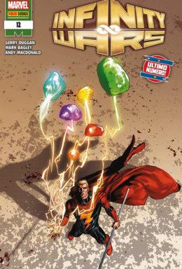 Copertina di Marvel Miniserie 221 – Infinity Wars 12