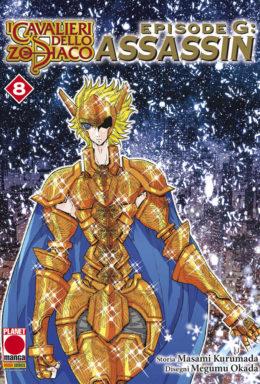 Copertina di I Cavalieri dello Zodiaco – Episode G Assassin 8