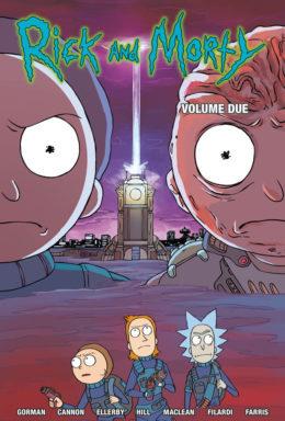 Copertina di Rick and Morty n.2