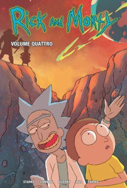 Copertina di Rick and Morty 4