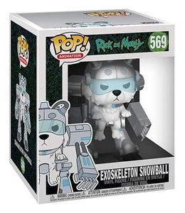 Copertina di Exoskeleton Snowball – Rick and Morty – Funko Pop 569