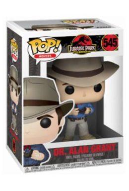 Copertina di Dr. Alan Grant – Jurassic Park 25th Anniversary – Funko Pop 545