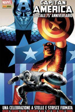 Copertina di Capitan America Speciale 75° Anniversario