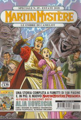 Copertina di Martin Mystere Speciale n.35 – Le ombre di Camelot