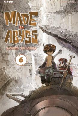 Copertina di Made In Abyss n.6
