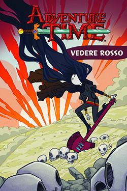 Copertina di Adventure Time Graphic Novel 3 – Vedere rosso