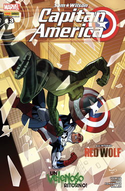 Copertina di Capitan America n.73 – Sam Wilson