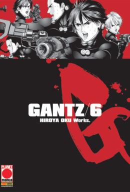 Copertina di Gantz Nuova Edizione n.6