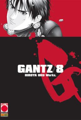 Copertina di Gantz Nuova Edizione n.8