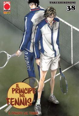 Copertina di Il principe del tennis n.38