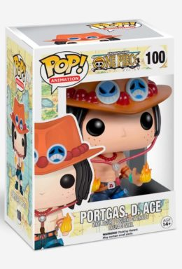 Copertina di Portgas. D. Ace – One Piece – Funko Pop 100