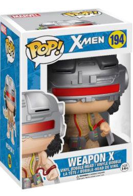 Copertina di Weapon X – X-Man – Funko Pop 194