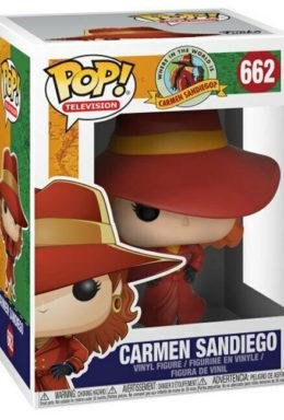Copertina di Carmen Sandiego – Where in the World is Carmen Sandiego? – Funko Pop 662