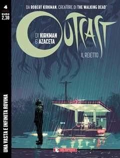 Copertina di Outcast – Il Reietto n.4