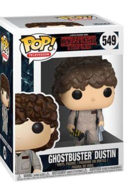 Copertina di Ghostbuster Dustin – Stranger Things – Funko Pop 549
