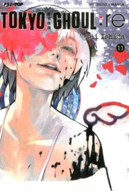 Copertina di Tokyo Ghoul:RE n.11