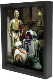 Star Wars Episode VII – Droids 3d Poster