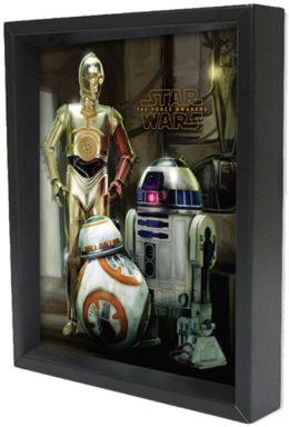 Copertina di Star Wars Episode VII – Droids 3d Poster