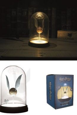 Copertina di Lampada Harry Potter Golden Snitch