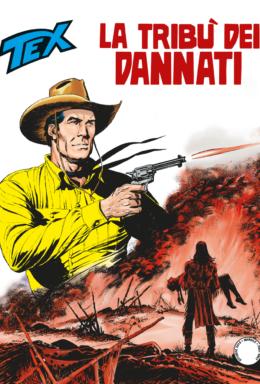 Copertina di Tex n.708 – La Tribù dei Dannati
