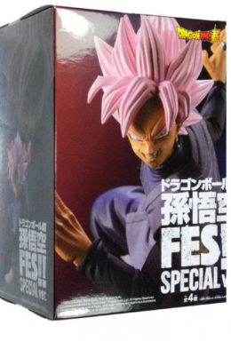 Copertina di Dragon Ball Super Black Goku SS Rosa Figure