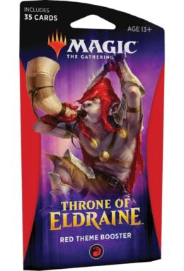 Copertina di Magic The Gathering Throne of Eldraine Theme Booster Rosso