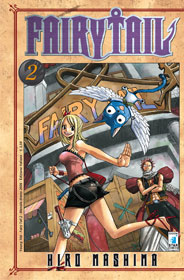 Copertina di Fairy Tail n.2 new edition