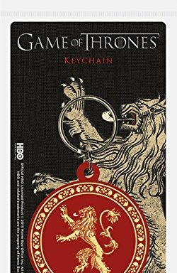 Copertina di Game of Thrones Lannister Keychain