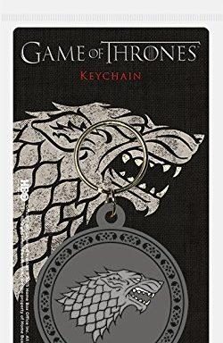 Copertina di Game of Thrones Stark Keychain