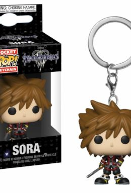 Copertina di Sora – Kingdom Hearts – Pocket Pop Keychain