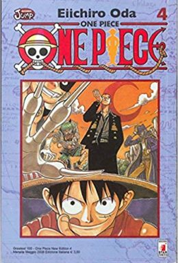 Copertina di One Piece New Edition n.4 – Greatest 100