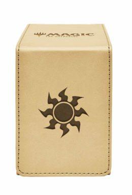 Copertina di Ultra Pro – Alcove Flip Box – Plains for Magic