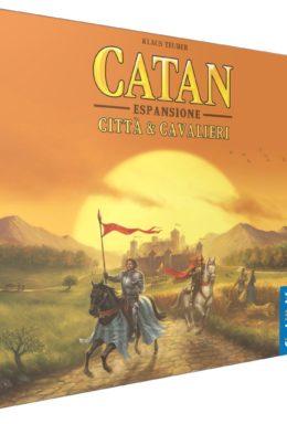 Copertina di I Coloni di Catan – Città e Cavalieri