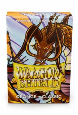 Copertina di Dragon Shield Japanese Shield Arancione