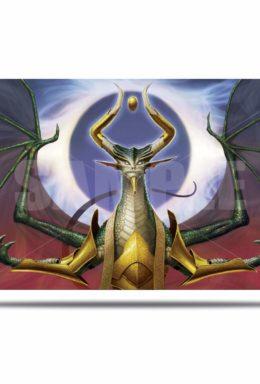 Copertina di Ultra Pro Magic: The Gathering War of The Spark Alternate Nicol Bolas Playmat