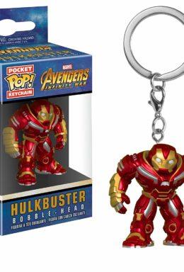 Copertina di Hulkbuster Bobble-Head – Avengers Infinity War – Pocket Pop Keychain
