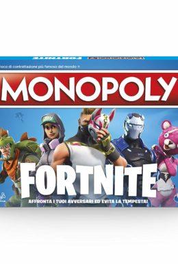 Copertina di Monopoly Fortnite Ed.Ita