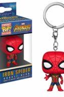 Iron Spider Bobble-Head – Avengers Infinity War – Pocket Pop Keychain