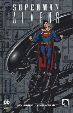 Copertina di Grandi Opere Dc – Superman/Aliens