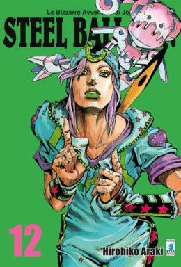 Copertina di Steel Ball Run n.12 – Le Bizzarre avventure di Jojo