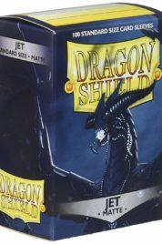 Dragon Shield – Matte Jet 100 pz
