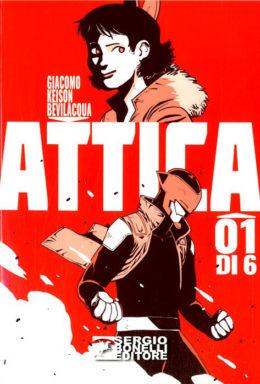 Copertina di Attica n.1