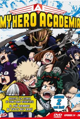 Copertina di DVD My hero Academia – Stagione 2 Box 1