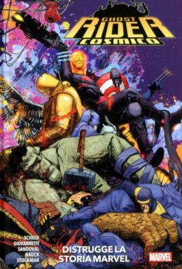 Copertina di Marvel Collection – Ghost Rider Cosmico Distrugge La Storia Marvel