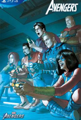 Copertina di Avengers n.117 – Variant Ps4