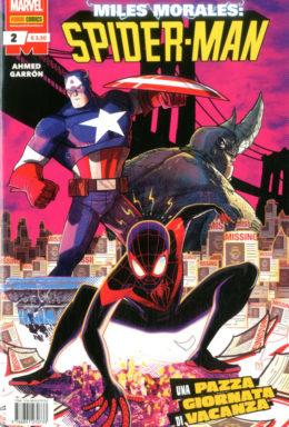 Copertina di Miles Morales: Spider Man n.2