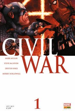 Copertina di Marvel Legends 24 – Civil War 1